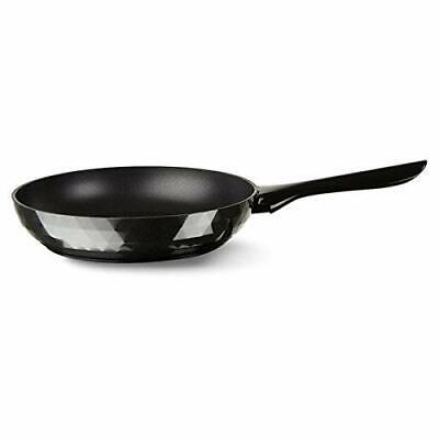 "Italian cookware TVS Deco Nonstick Fry Pan in Black (9.5"") 