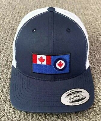 Canadian Air Command Canada Air Force Hat SnapBack Trucker Handcrafted Mesh Cap