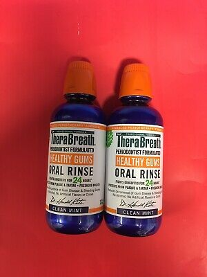 2 TheraBreath – Healthy Gums Oral Rinse – Periodontist Formulated . Mouth Wash