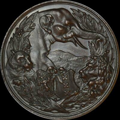 Netherlands, Amsterdam - 1888 Zoological Society bronze medal