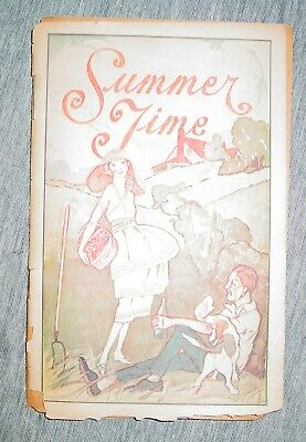 Vintage 1920's Lydia Pinkham Guide to Health Summertime Pamphlet Quackery