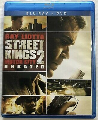 Street Kings 2 Motor City (Bluray, DVD, 2011, 2 Disc Set, Unrated) Canadian
