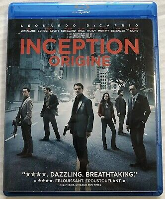 Inception (Bluray, DVD, 2010, 3 Disc Set) Canadian