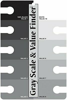 Color Wheel 245557 3505 Gray Scale and Value Finder