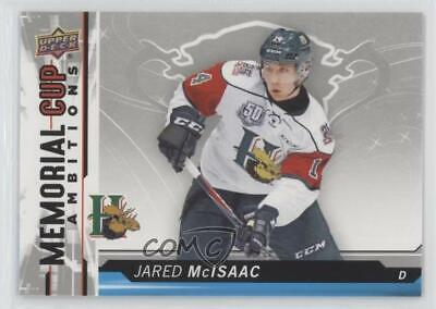 2018-19 Upper Deck CHL Memorial Cup Ambitions #CA-13 Jared McIsaac Hockey Card