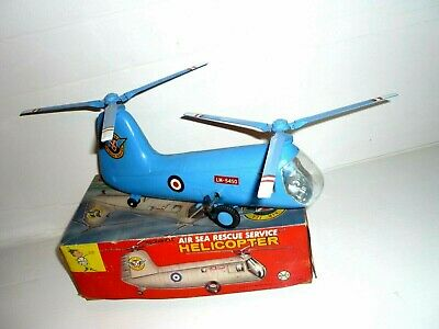 Alter Helicopter Air Sea Rescue Service/ Britain .Marx / Made In Hong Kong