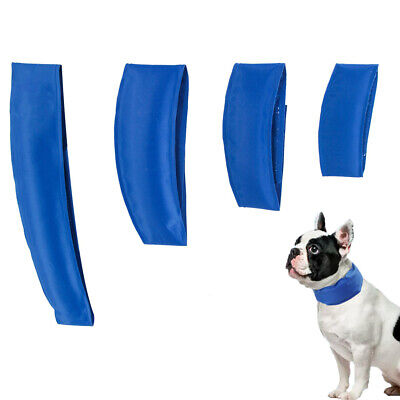 Cooling Dog Collar Summer Chill Removable Neck Bandana Pet Cat Ice Cool Collars