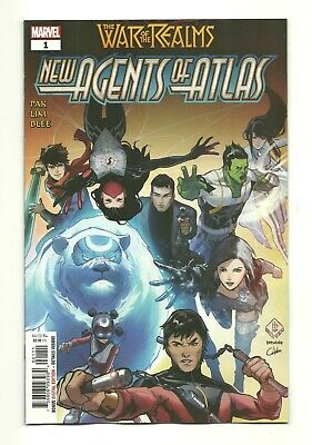 NEW AGENTS OF ATLAS #1 1st Appearance Wave War of Realms NM (9.4)