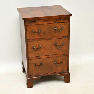Small Antique Burr Walnut Chest of Drawers