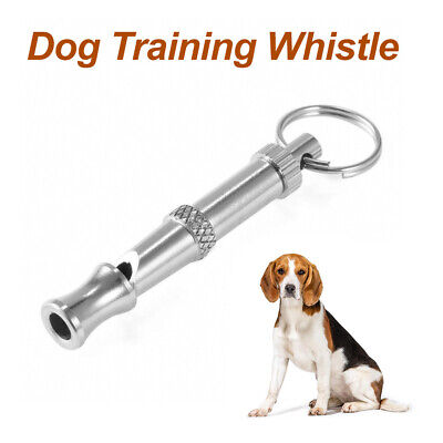Training Obedience Whistle Ultrasonic Supersonic Adjustable Pet Dog Puppy Pitch