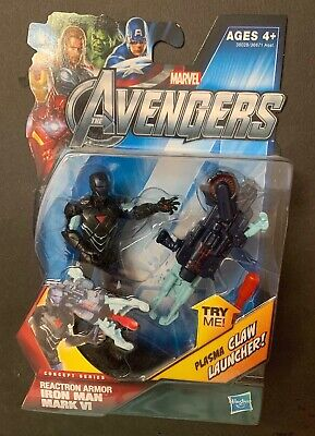 Reactron Armor Iron Man #07 The Avengers 3.75 Inch Action Figure Series 2