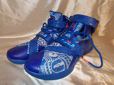check out 6f034 8982c Men s SZ 14 Nike Zoom Lebron Soldier IX 9 Basketball Shoes 810803-418