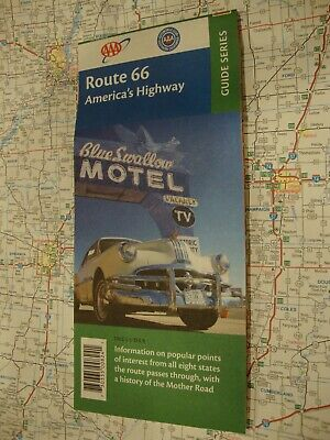 AAA ROUTE 66 GUIDE SERIES AMERICA'S HIGHWAY Travel Road Map Vacation FREE SHIP!