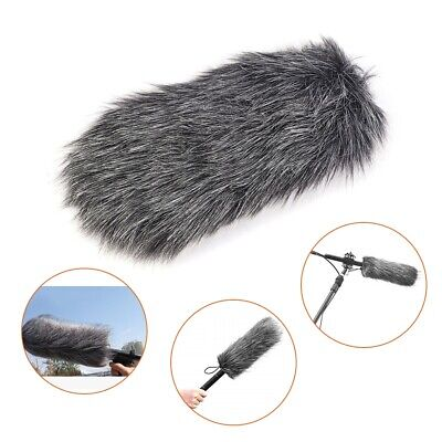Fur Windscreen Windshield Wind Muff for Lapel Lavalier Microphone Mic Rode GO