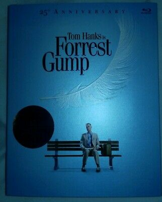 Forrest Gump Anniversary Edition (BLU RAY) Brand New Factory Sealed