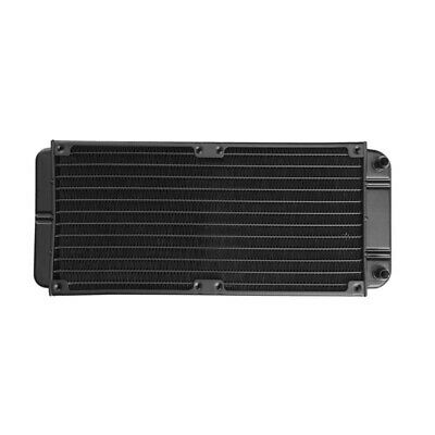240mm 12-Tube Aluminum alloy Computer Water Cooler PC Case Water Cooling Rad 5Y5