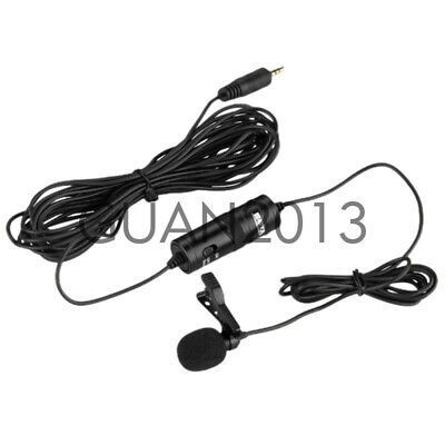 BOYA BY-M1 3.5mm Lavalier Microphone For Mobile Phone DSLR Camera Camcorder PC