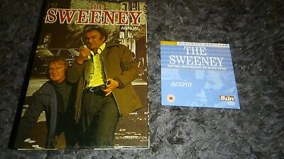 THE SWEENEY ANNUAL Excellent Unmarked Annual with Jackpot DVD FREE P&P