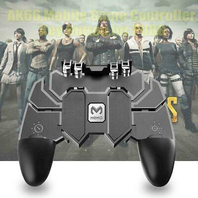 AK66 Six Finger Mobile Game Controller Fire Key Button Gamepad Trigger for B4P7