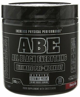 Applied Nutrition ABE Ultimate Pre Workout All Black Everything FREE SHAKER