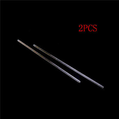 2Pcs Lab Use Stir Glass Stirring Rod Laboratory Tool 6*300Mm HC