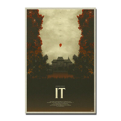 New IT Movie Stephen King Horror Art Silk Poster 13x20 24x36 inch