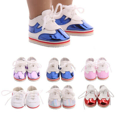 "Fashionable Lace Up 18"" Doll Shoes Clothing Accessory American Doll Dress up"