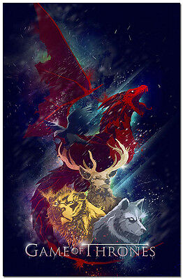 Game Of Thrones Season 5 TV Shows Silk Poster 13x20 inch 023