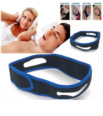 Anti Snoring Chin Strap Belt Stop Snore Device Apnea Jaw Support Solution_UK