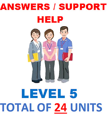 Nvq Qcf Diploma Level 5 Health And Social Care Adults 24 Units Answers / Help