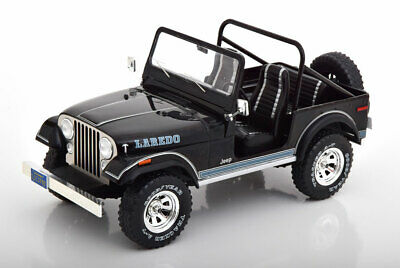 1:18 Model Car Group Jeep CJ-7 Laredo 1976 black