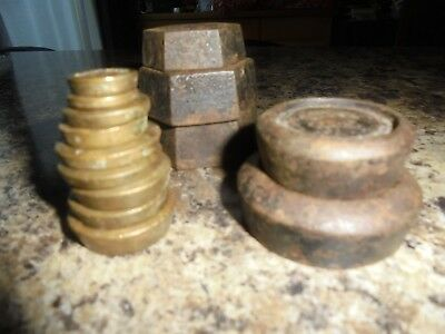 Imperial Weights Copper And Brass Set Of 14