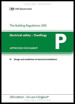 PART P ELECTRICAL SAFETY. Approved document P