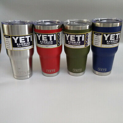 Rambler 30 OZ Stainless Steel Vacuum Insulated Cup with MagSlider Lid YETI Cover