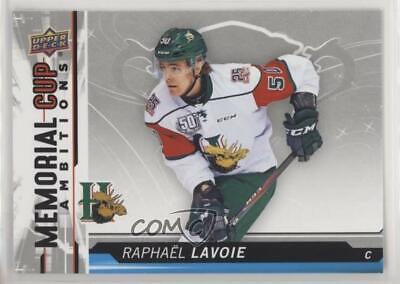 2018-19 Upper Deck CHL Memorial Cup Ambitions #CA-17 Raphael Lavoie Hockey Card