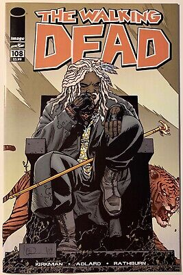 THE WALKING DEAD 108 (9.0 NEAR MINT) IMAGE Comics 1st Series