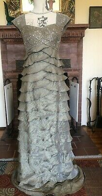3ced282bc40 IGNITE EVENINGS by Carollin Sage Green Prom Formal Bridesmaid Gown Dress 6