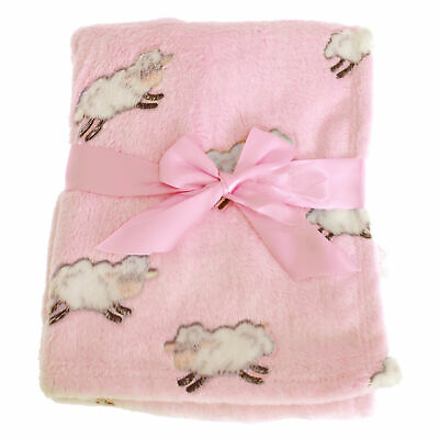 Snuggle Baby Pink Baby Wrap For Someone Special With Sheep Design (BABY1496)