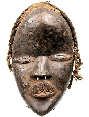 Art African Arts First - Antique Mask Course Dan - Dan Mask - 22 CMS