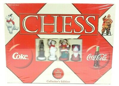 New Sealed Coca-Cola Chess The Ultimate Strategy Game Collector's Edition Set
