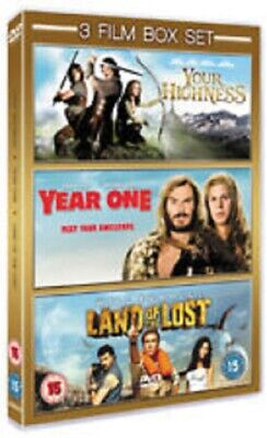 Triple DVD Boxset - Your Highness / Year One / Land Of The Lost NEW & SEALED