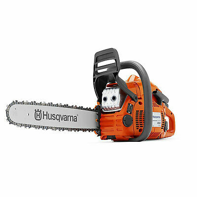 Husqvarna 450E 20 Inch Bar 50.2cc 3.2 HP X-Torq Gas Powered 2 Cycle Chainsaw