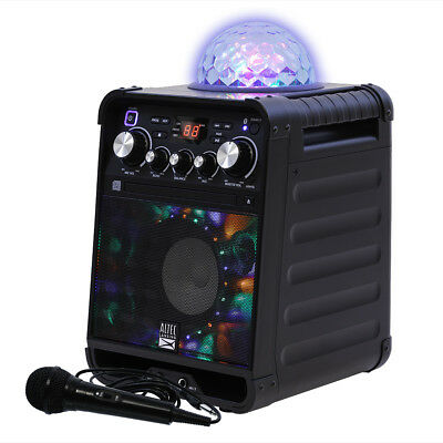 Altec Lansing Party Star Karaoke Party Machine with Bluetooth & Disco Light Show