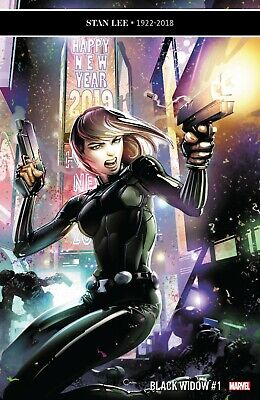 Black Widow #1 2019 MARVEL Comics NM Main Cover