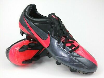 37638283c Nike Mens Rare T90 Laser IV FG 472552 060 Silver Pink Soccer Cleats Boots  Size 9