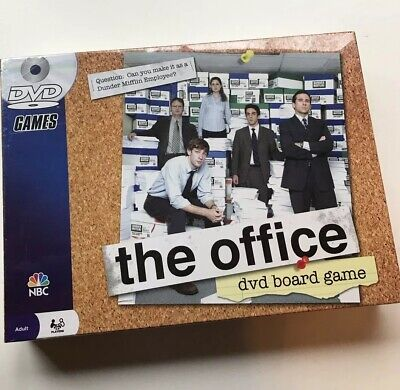 The Office DVD Board Party Family Game Pressman 2008 Trivia Dunder Mifflin~ New