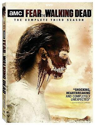 Fear the Walking Dead: Season 3 DVD, 2018, New, Free Shipping