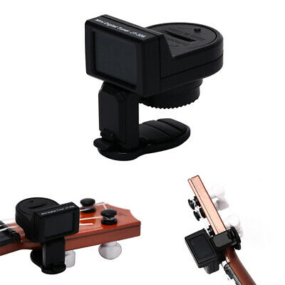 1pc JT-306 Mini Guitar Tuner Digital LCD Clip On Tuner for Electric Acoust TDO