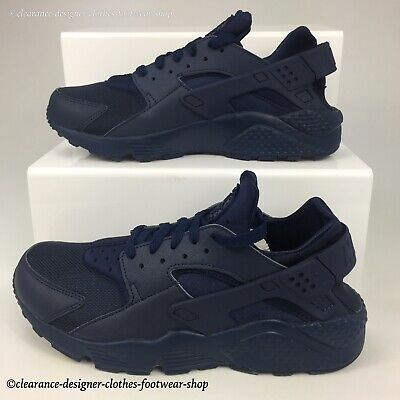 purchase cheap 7724b 7ff93 Nike Air Huarache Trainers Mens Midnight Navy Running Casual Shoes Uk 10  Rrp£100