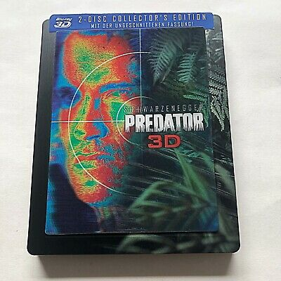 Predator Blu-ray Steelbook (3D+2D) Lenticular Limited Edition OOS/OOP SOLD OUT!